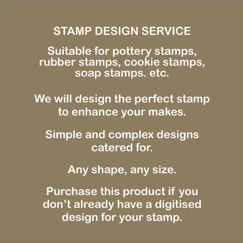 Pottery Stamp Design Service